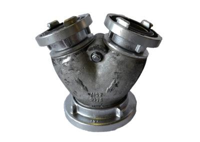 Gyűjtő tűzoltótömlőhöz (A;B-B)